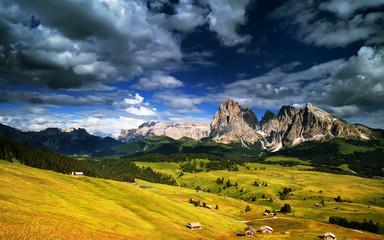 Montagna, Dolomiti, Alpe di Siusi, Italia