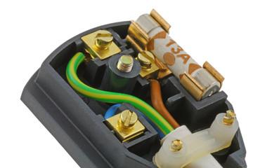 close up 3 pin uk plug