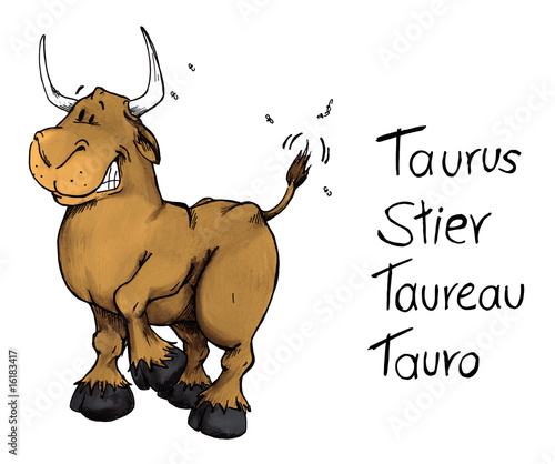 taurus stier taureau tauro sternzeichen stockfotos. Black Bedroom Furniture Sets. Home Design Ideas