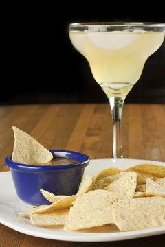 Chips, Salsa, Margarita