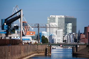 Industrie- und Medienhafen Düsseldorf