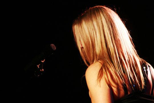 Musik Sängerin