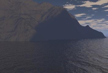 landscape in 3d