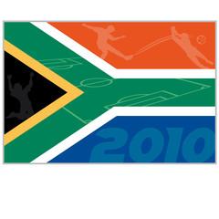 südafrika 2010 flagge