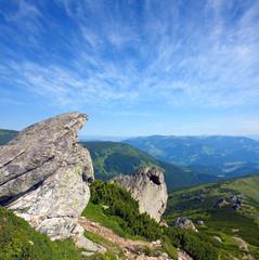 Fototapete - Nice mountain landscape