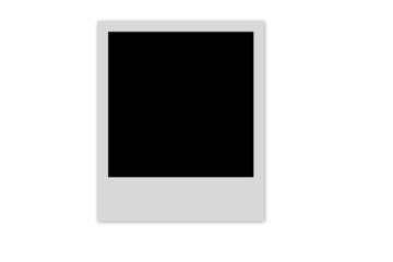 Empty photo frame
