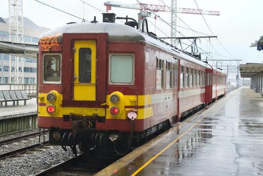 Belgian commuter train
