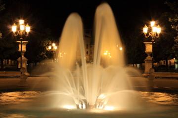 Fontana di notte, Padova