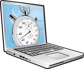 laptop stopp
