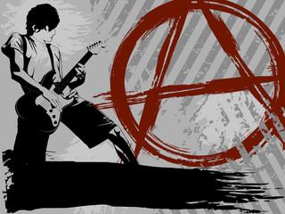Punk background