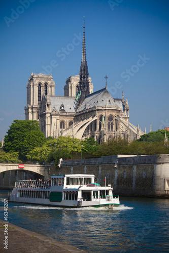 Wall mural Notre Dame de Paris, France