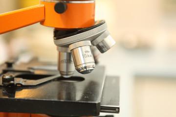 Mikroskop Nahaufnahme