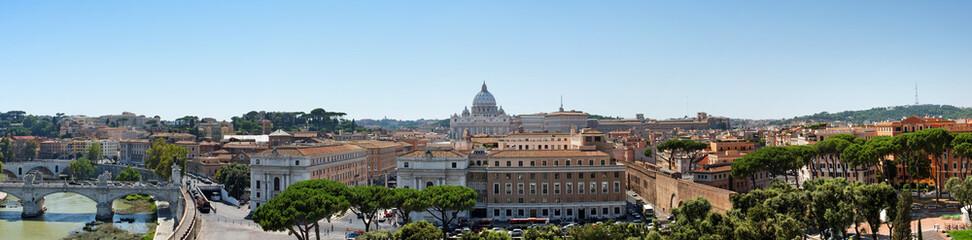 Panorama Rom mit Petersdom