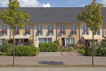 Reihhenhausanlage in Schwerin