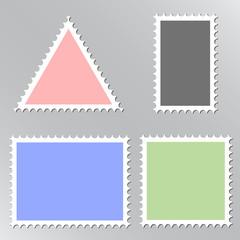 Vector post mark