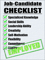 Job-Candidate Checklist-APPROVED-EMPLOYED
