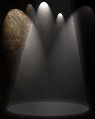Center spotlight