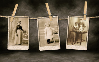 Authentic Vintage Family Photographs