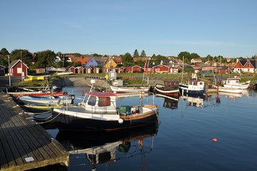fishing harbour kivik