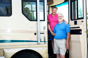 Senior Couple in their RV