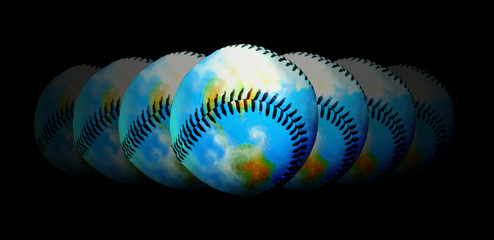 Baseball - Central Topic Of The World
