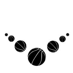 Basketball balls.Vector illustration