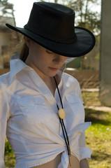 Woman-cowboy
