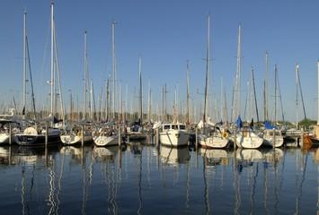 Yachthafen in Enkhuizen