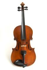 Violine isoliert auf Weiß