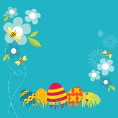 Retro Easter Design