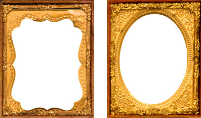 TWO DAGUERREOTYPE PICTURE FRAMES