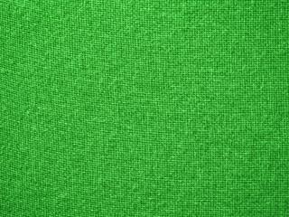 Burlap Green Fabric Texture Background