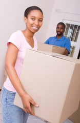 african american woman moving in with boyfriend