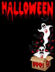 Halloween Fantasma-Halloween Ghost-Fantôme Halloween