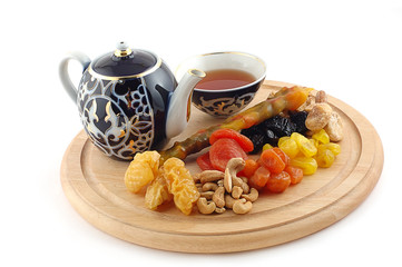 Tea with East sweets