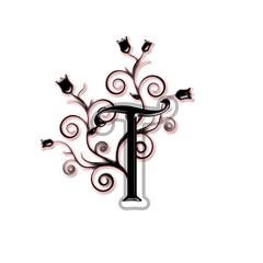 Capital letter T