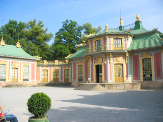 Chinese pavillon in Drottningholm