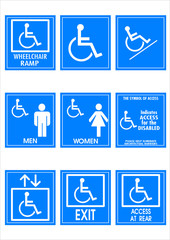 Handicap Signs