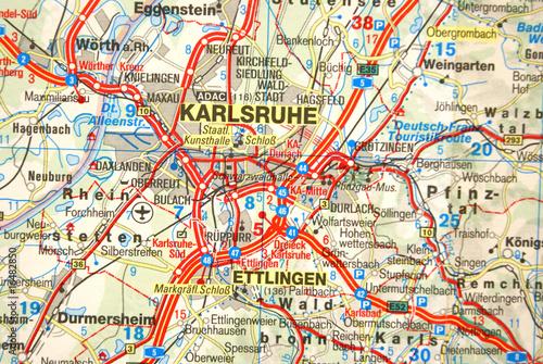 Karte Karlsruhe.Landkarte Karlsruhe Stockfotos Und Lizenzfreie Bilder Auf Fotolia