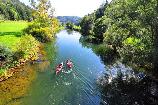 The Upper Danube Valley in Sigmaringen County