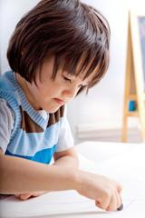 Creative Toddler Boy
