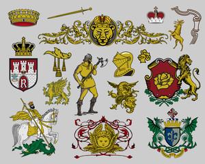 Heraldic elements - 7