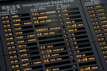 Airport Departure Information