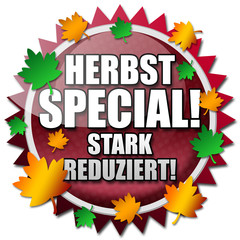 Herbst Special! Button
