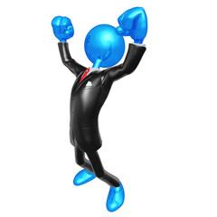 3D Character Businessman