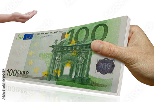 100 euro geld bank kredit stock photo and royalty. Black Bedroom Furniture Sets. Home Design Ideas