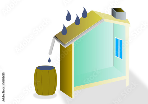 r cup ration d 39 eau de pluie fichier vectoriel libre de droits sur la banque d 39 images fotolia. Black Bedroom Furniture Sets. Home Design Ideas