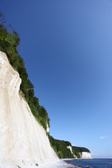 Kreidefelsen bei Sassnitz - Chalk cliffs at Sassnitz