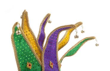 Wall Mural - Mardi Gras Jester Mask Crown