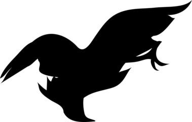 Swooping Bird